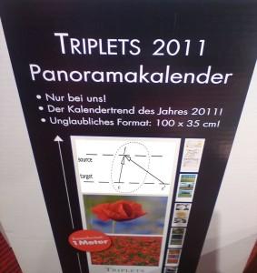 Triplets 2011 Panoramakalender